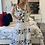 Thumbnail: Maxi dress white blue