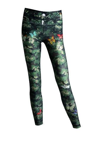 Leggings Jeans militar angels