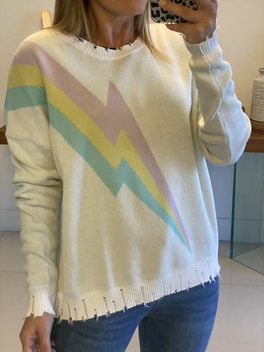 Sweater white flash