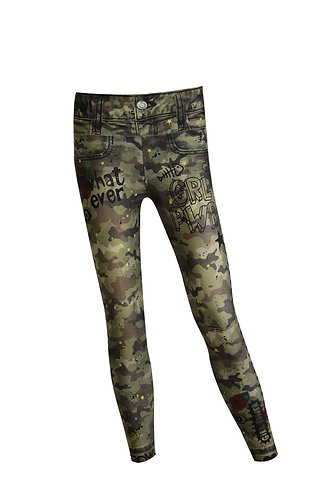 Leggings camo Pow