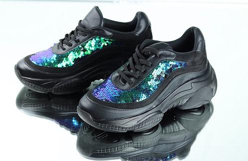Shoes full black