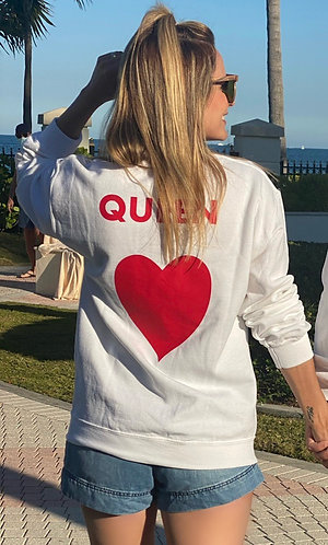 Sweater QUEEN women