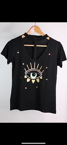 T-shirt good look black