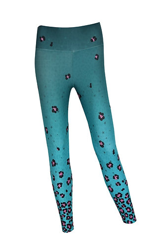 Leggings Sport mint rose
