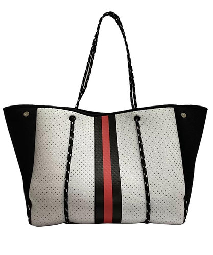 Bag neopreno black & red