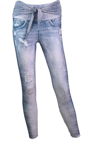 Leggings UP blue jeans
