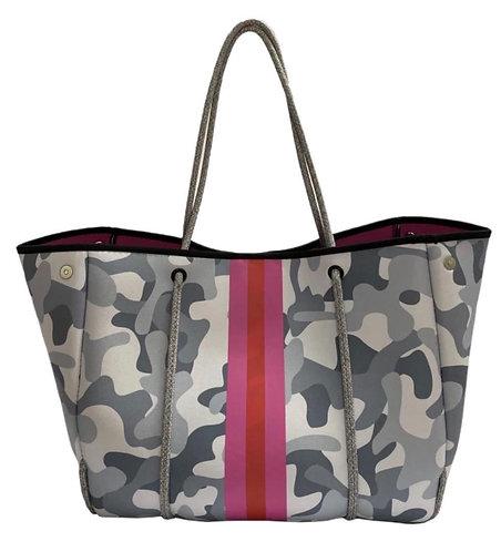 Bag neopreno Camo pink