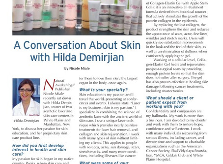 Hilda Interviewed by Natural Awakenings Magazine