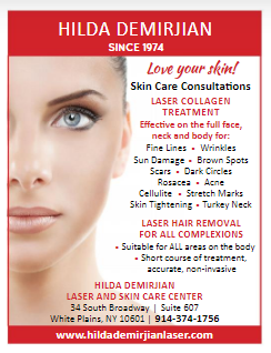 Our Recent Ad for Laser Collagen Treatment and Laser Hair Removal!