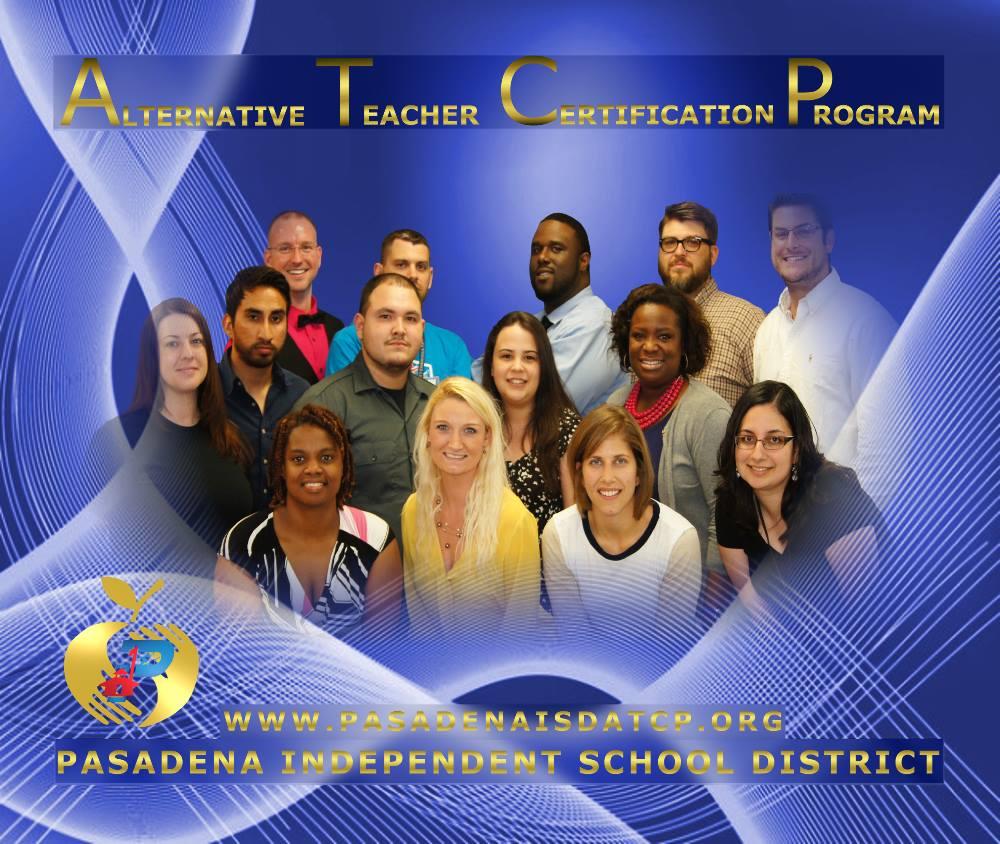 Pasadena Isd Atcp Teacher Certification Houston Tx