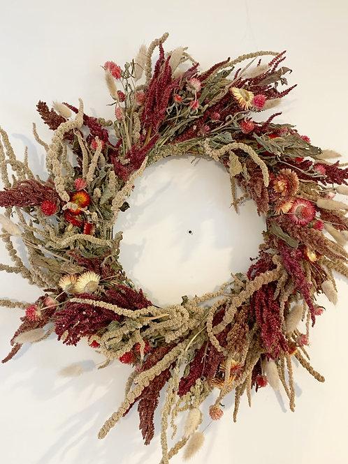 Warm Everlasting Wreath
