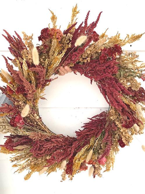 Everlasting warm wreath