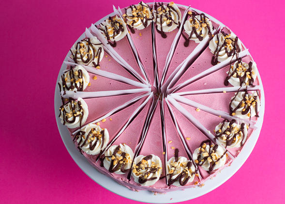 "10"" rawdacious cheesecake"