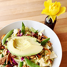 Crunchy sesame chop salad