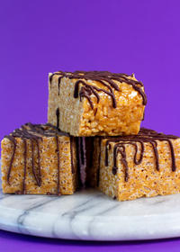 famous peanut butter rice crispies
