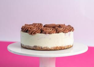 """6"""" baby cheesecake"""