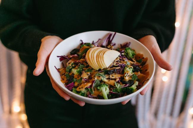 miso crunch salad