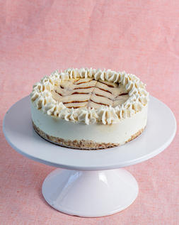 "6"" rawdacious cheesecake"