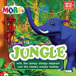 MORFs-In-the-Jungle-elephant-&-monkey.pn