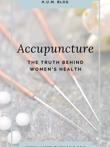 Acupuncture: The Truth Behind Women's Health