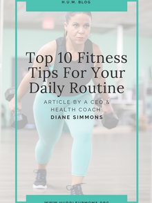 Top 10 Fitness Tips For Your Daily Routine