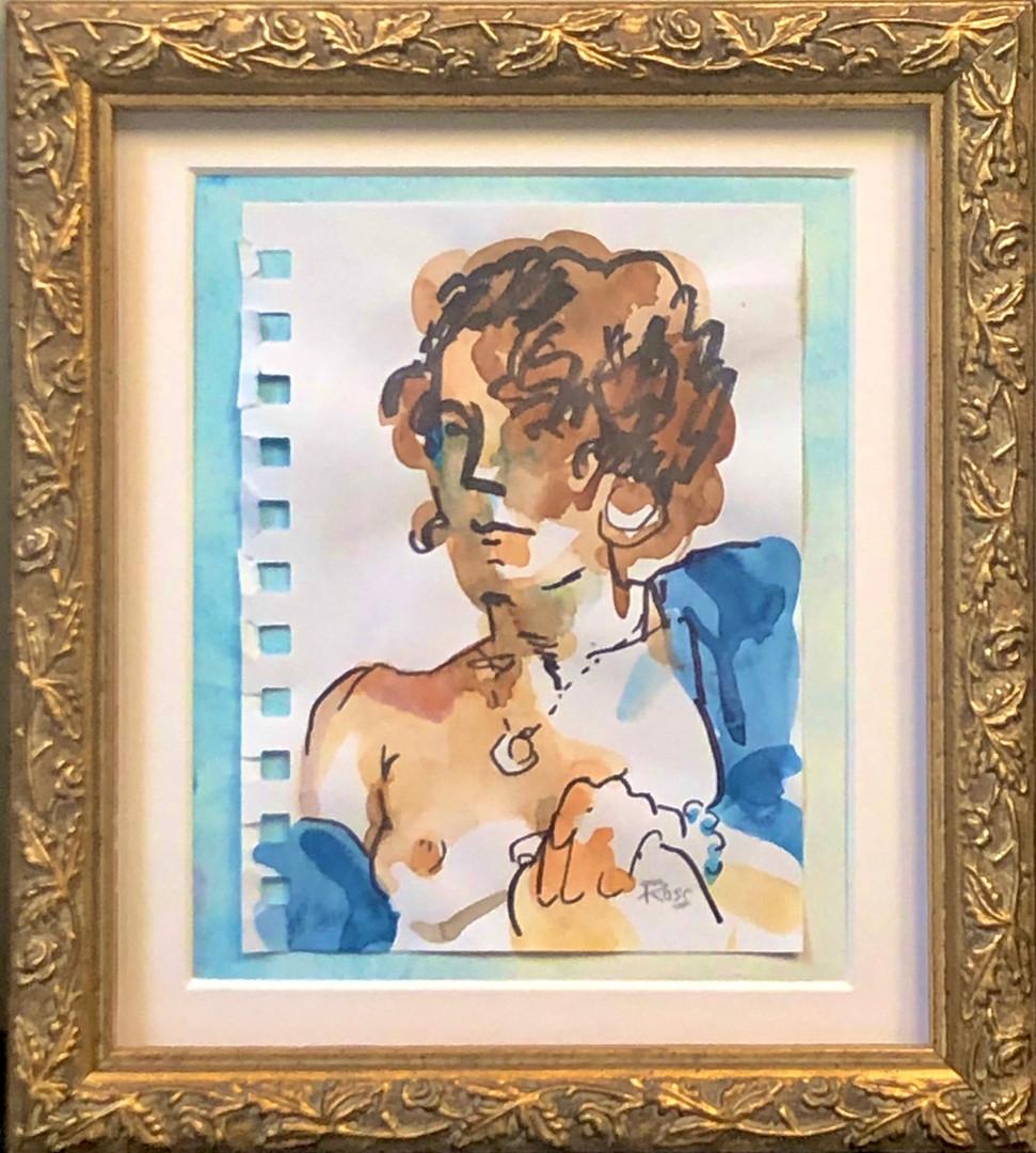 """""""Lady in Blue Shawl"""""""