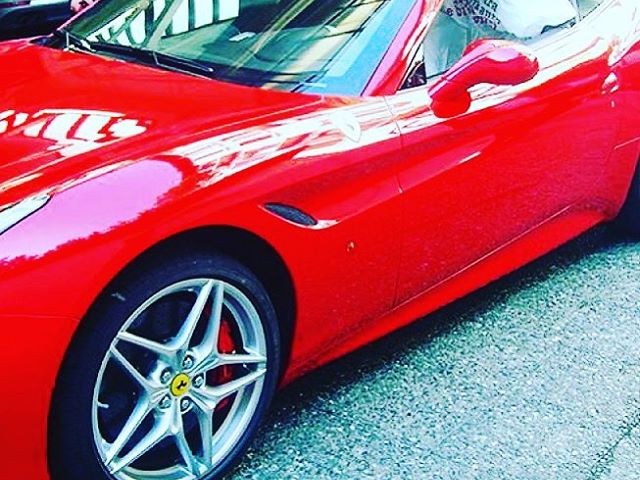 Ferrari California - Japan Protection Treatment