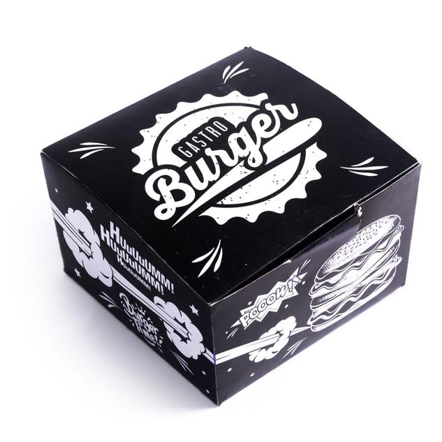 Caixa de hambúrguer