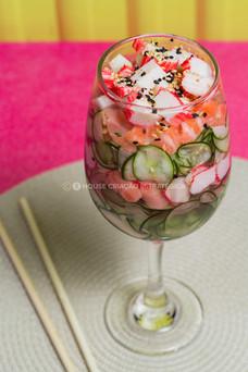 Fotografia cozinha oriental japonesa