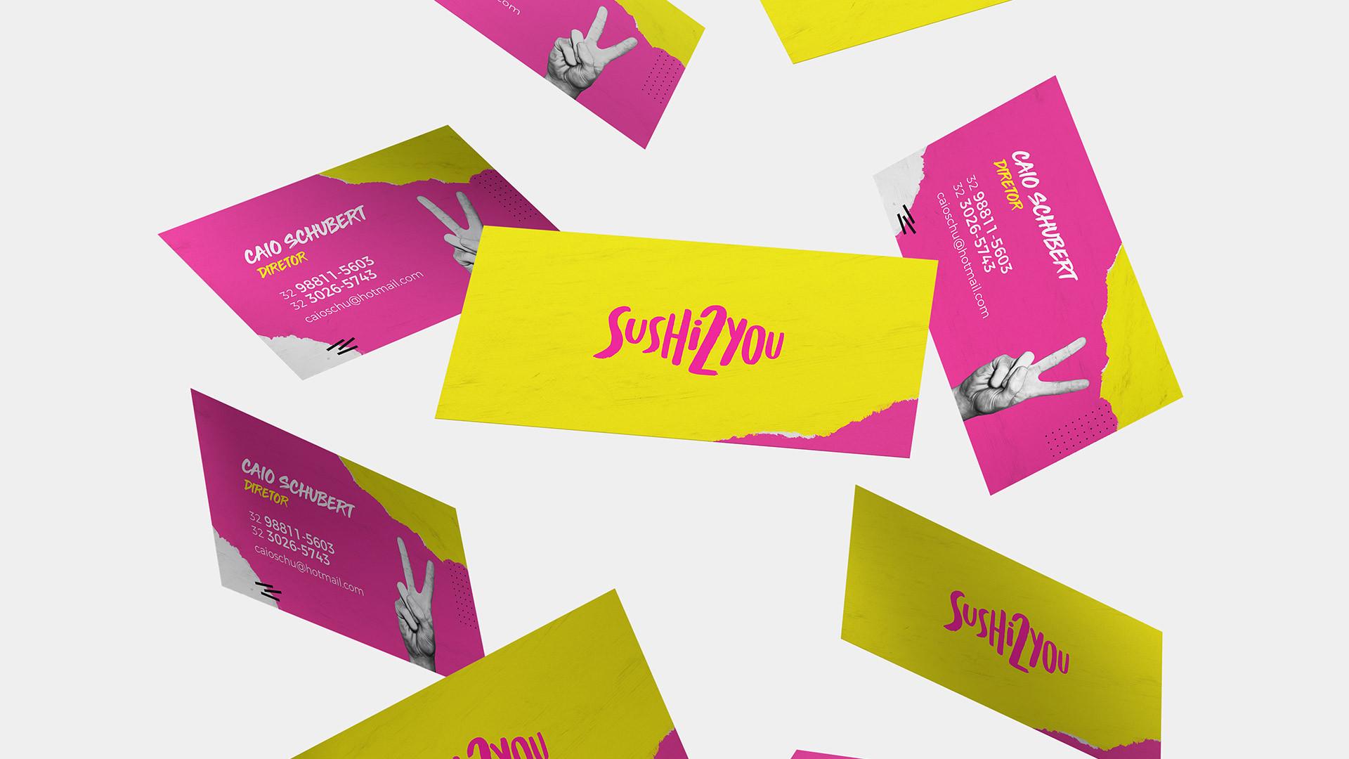 Sushi 2 You - Identidade Visual Branding