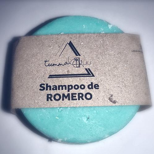 Shampoo Sólido de Romero