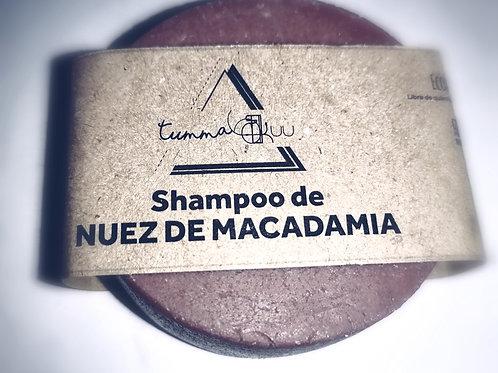 Shampoo Sólido de Nuez de Macadamia