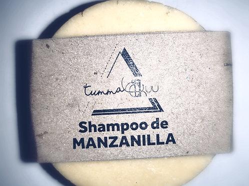 Shampoo sólido de Manzanilla