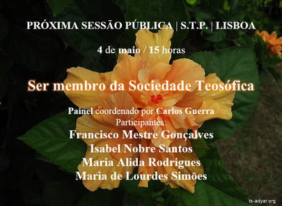 Ser membro da Sociedade Teosófica