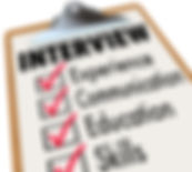Interview Checklist Job Candidate Qualif