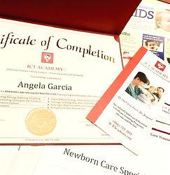 newborn care specialist certification ba