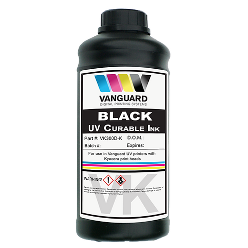 Vanguard VK300D UV Curable Kyocera KJ4A Ink 1 liter