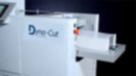 Dyna-Cut Rotary Die Cutter Side Stacker.