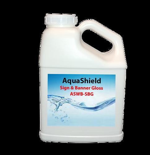 AquaShield Sign and Banner Gloss