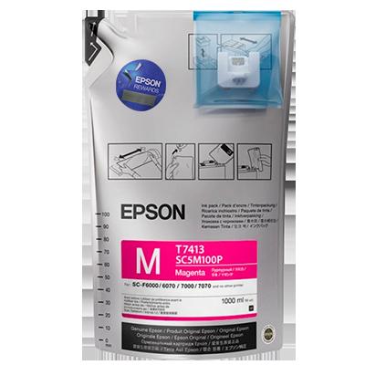 Epson Ultrachrome DS Ink - Magenta - 1 Liter Bag