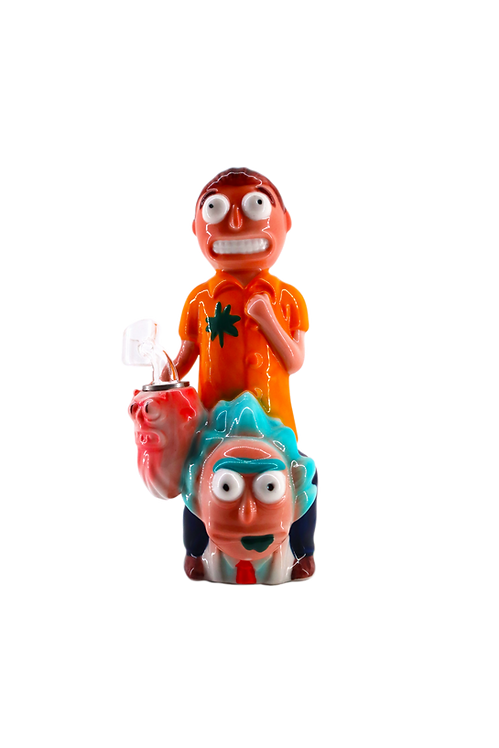 Ricky and Morty Dab rig