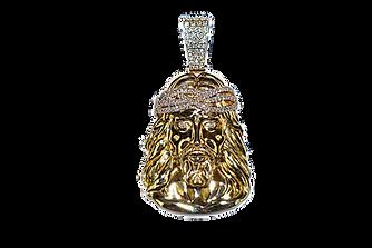 Jesus Piece Diamond Crown Polish Finish