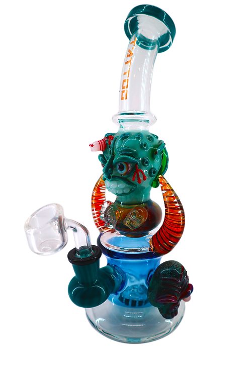 C22 Tattoo Glass oil rig