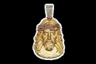 Jesus Piece Diamond Crown Satin Finish