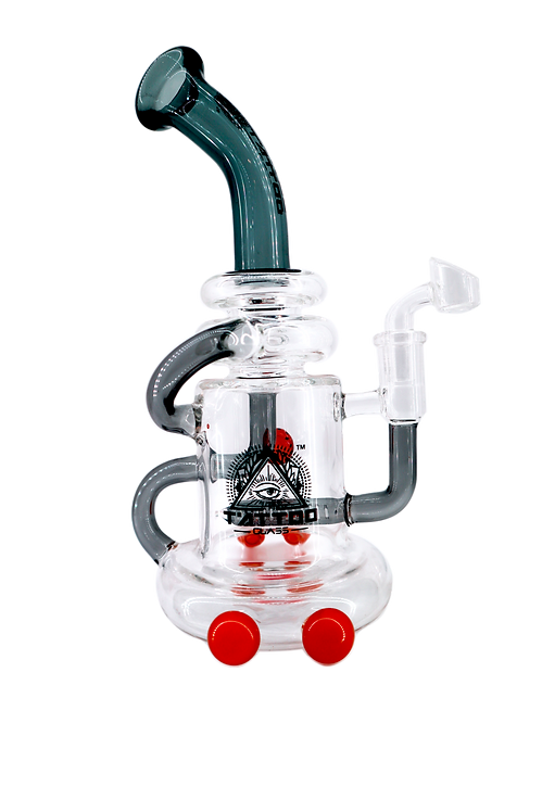 Tattoo Glass – Mushroom Recycler Dab Rig