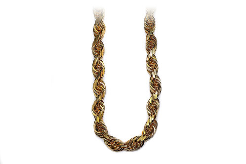 GOLD ROPE CHAIN 4 mm