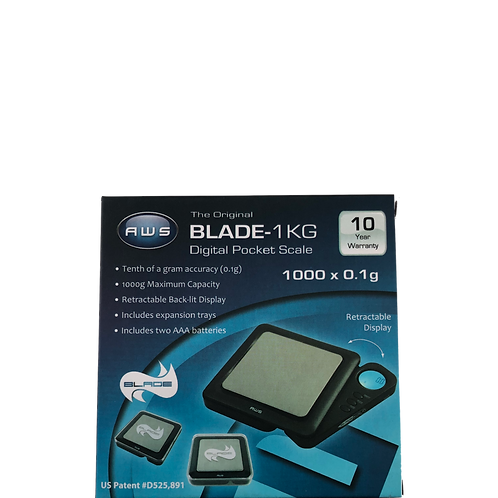AWS BLADE-1KG SCALE