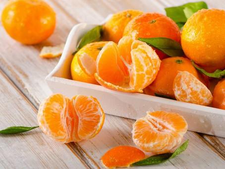 3 benefícios da tangerina