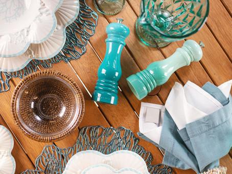 Casa de praia: saiba como compor uma mesa perfeita