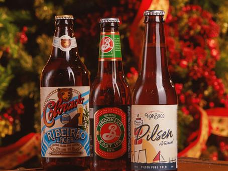 3 cervejas para a Ceia de Natal